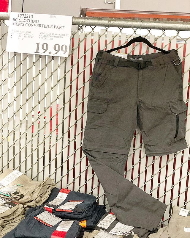 cfb2bde92c4a Mens  convertiblepants to shorts only  19.99!  costcodeals  costco great  for  hiking