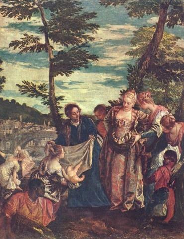 나일강에서 건져진 아기 모세 칼리아리 파올로 베로네세(Caliari Paolo Veronese)