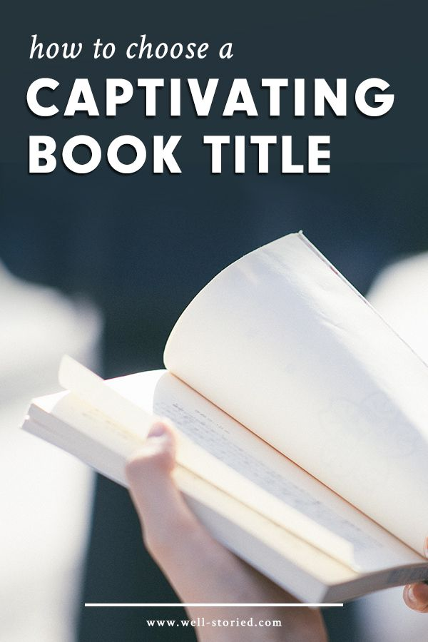 Struggling to choose the perfect title for your story? There may be more of a science to titling than you think. How so? Check out this epic titling breakdown from the Well-Storied blog!