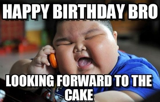 Happy Birthday Bro Funny Image