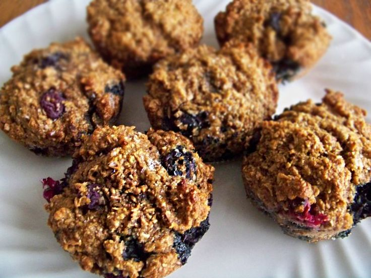 Banana Blueberry Bran Muffins - we will see how they taste
