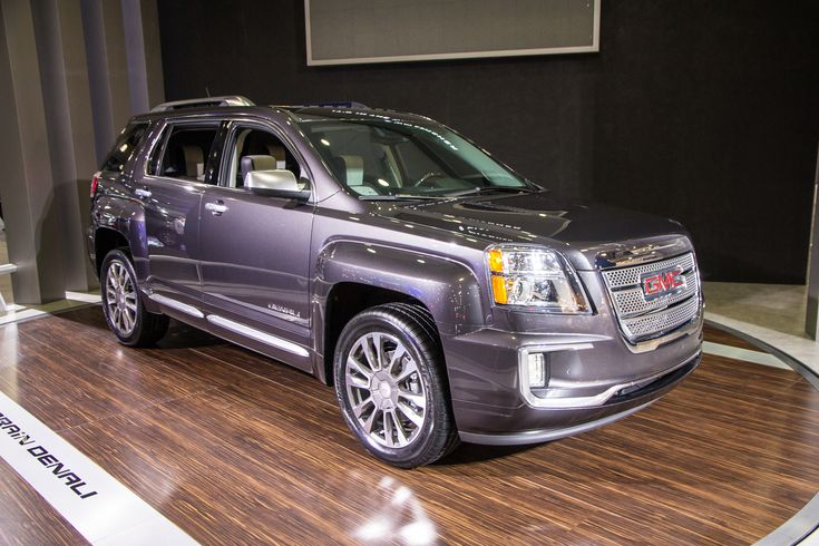 The 2016 GMC Terrain Denali has the choice of a new Light Titanium or Jet Dark colored mixture. Description from 2016releasechanges.com. I searched for this on bing.com/images