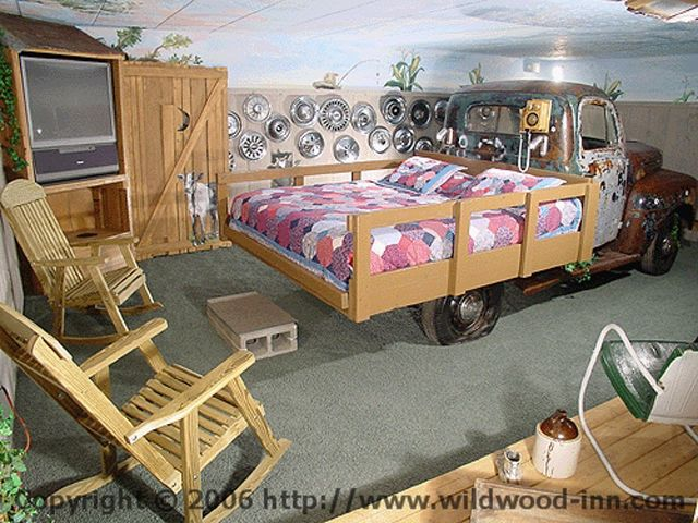 Cute Bed Idea For A Little Boys Room.
