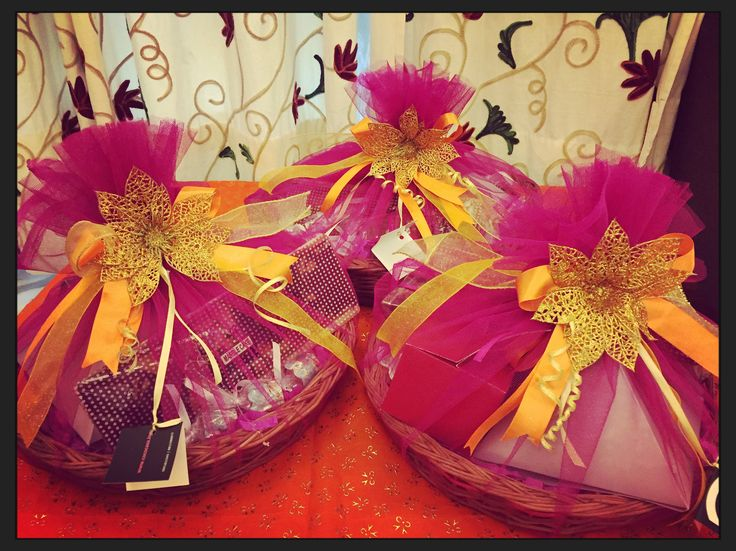 Gift packaging services from Sagan and Sagai, trousseau and gifting service