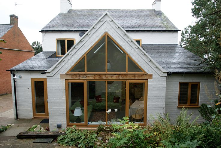 Garden Room Single Storey Extension With Pitched Roof