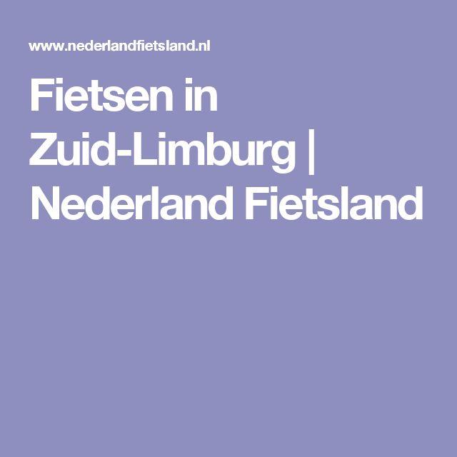 Fietsen in Zuid-Limburg |  Nederland Fietsland