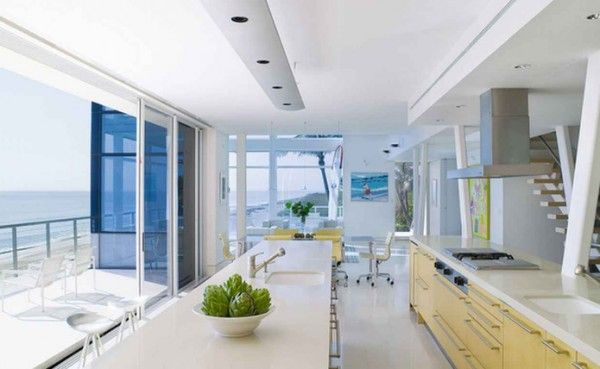 Beach House Kitchen Design By Hughes Architects 600×369 - pictures, photos, images