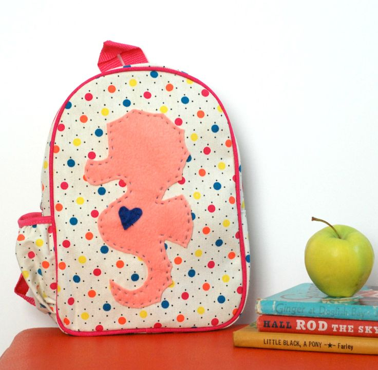 Back to School Toddler Preschool Backpack Daycare Pack by FriendsOfSocktopus on Etsy https://www.etsy.com/listing/200583801/back-to-school-toddler-preschool
