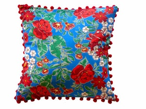 """coussins """"Chitao"""" tissus traditionnel brésilien."""