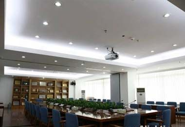 LED Down lights has an attractive white finish which will blend into most ceiling.  http://www.led4india.com/led-down-lights/30-led-down-light-5w.html