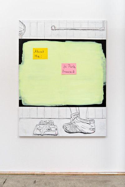 Dani Leder at Neue Alte Brücke (Contemporary Art Daily)
