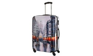 Groupon - Valises imprimées en polycarbonate ref Reading Travel One, 2 tailles au choix, dès 44,90€ (jusqu'à 77% de réduction). Groupon deal price: 44,90 €
