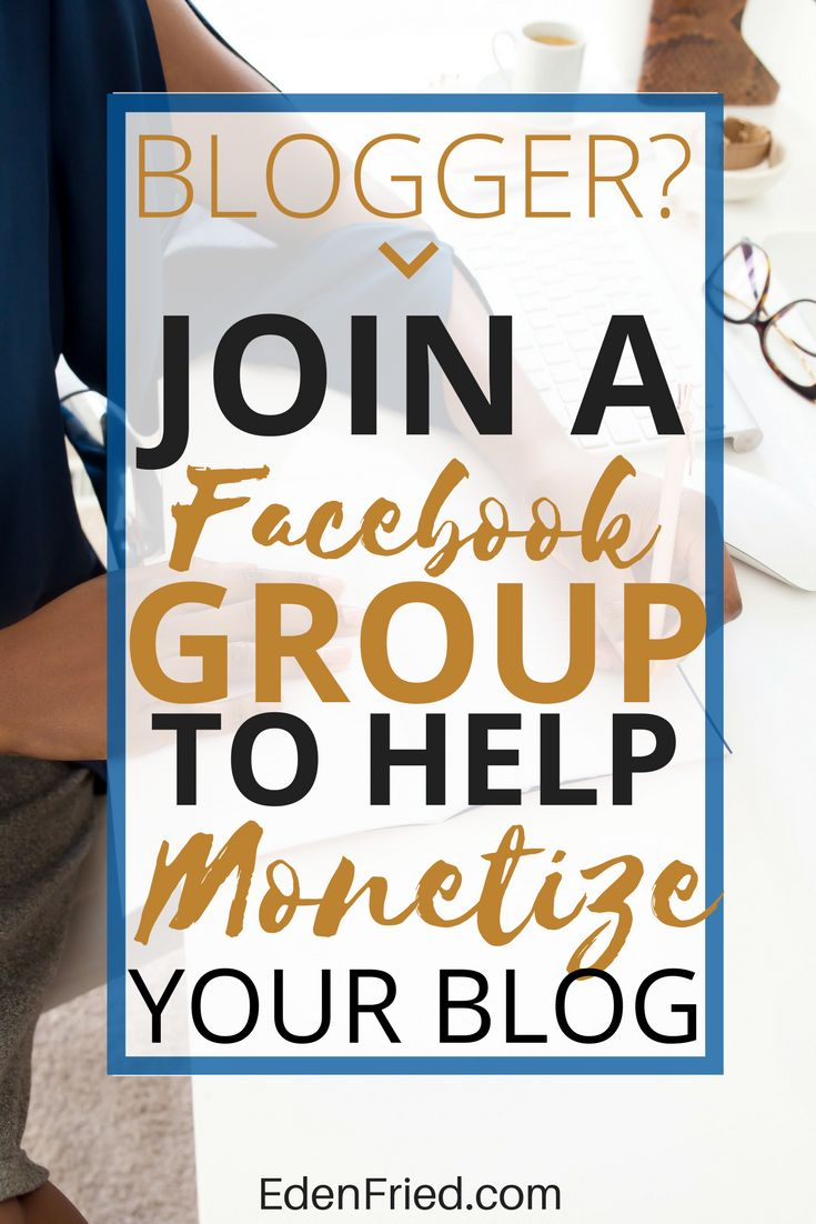 Join a community of bloggers on Facebook who are looking to support and aid one another in their journey to monetizing their blogs. Start a blog. Monetize a blog. How to make money blogging.