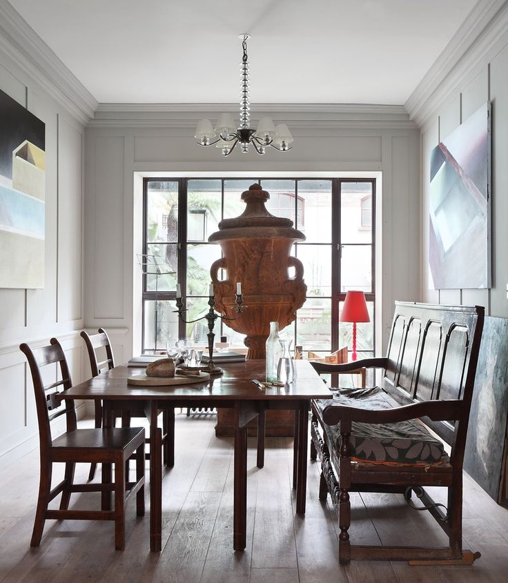 Eclectic Dining Room By Chris Dyson Architects With Bench