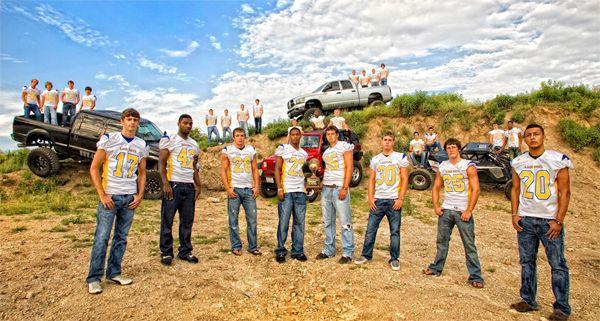 Lago Vista High Football Team Photo!