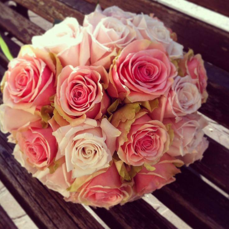 Bouquet de rosas antiguas