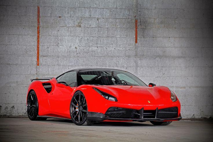 VOS Performance Project 9x #Ferrari 488 GTB #cars #sportscars #supercars #exotics #turbo #luxury #carbonfiber More from Ferrari >> http://www.motoringexposure.com/vehicle-make/ferrari/