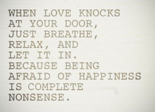 First Kiss Love Quotes : ... Quotes, Complete Nonsen, Knock Knock, Inspiration Quotes, Love Quotes