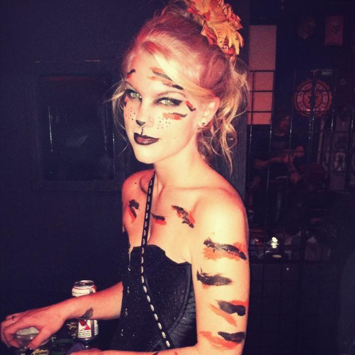 Halloween Dress Up Tumblr ~ Kristal novak s own pin inspired tiger costume creative  sc 1 st  bursaburaya.com & Halloween Dress Up Tumblr: . How halloween costumes represent ...