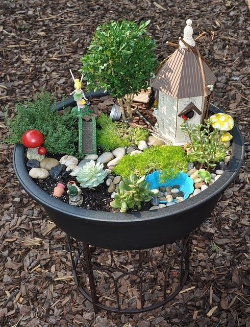 40 Magical DIY Fairy Garden Ideas - Sortra on imgfave