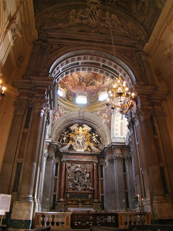 Cappella Corsini - basilica di Santa Maria del Carmine a Firenze