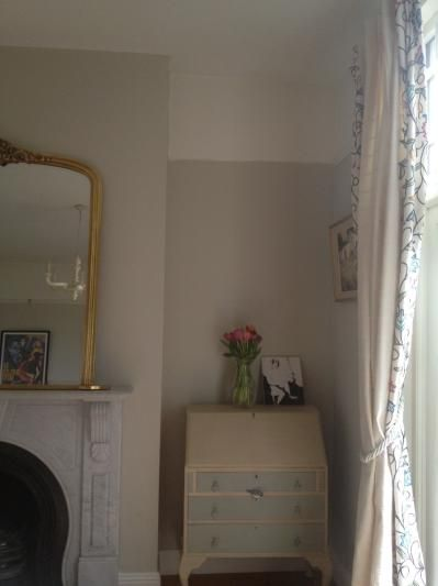 Modern Country Style Farrow And Ball Shaded White North Facing Room Country House Decor