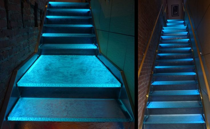 Lighting Basement Washroom Stairs: Unique Thermoformed Glass Creations In 2019