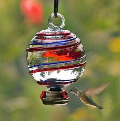 hummingbird feeder: Birdhouses, Glasses, Hummingbird Feeders, Dew Drops, Bird Houses, Garden, Hummingbirds