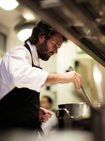 "Carlo Cracco - chef ""Cracco"" restaurant, Milan (Italy)"