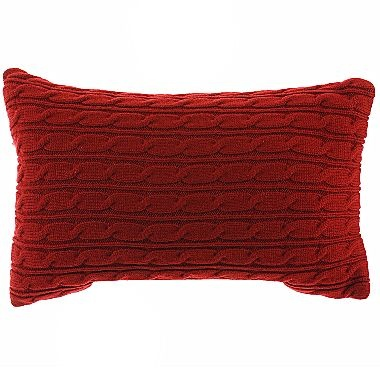 Jcpenney Red Decorative Pillows : Linden Street Cable Knit Decorative Pillow - jcpenney Home Decor Pinterest Pillows ...