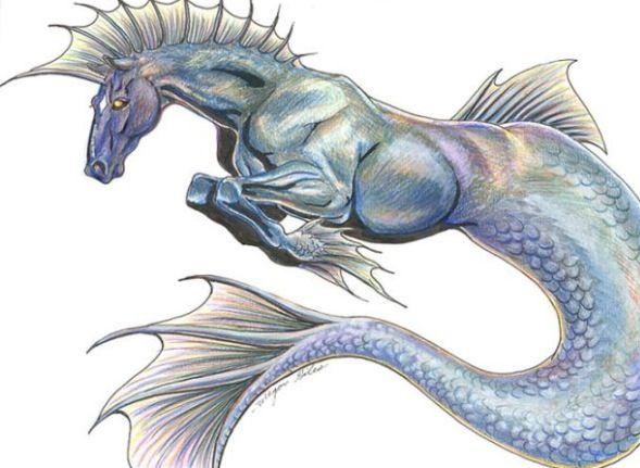 Hippocampus | Mythology | Pinterest | Rainbows