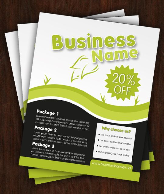 14 best Business Flyers images on Pinterest Business flyers