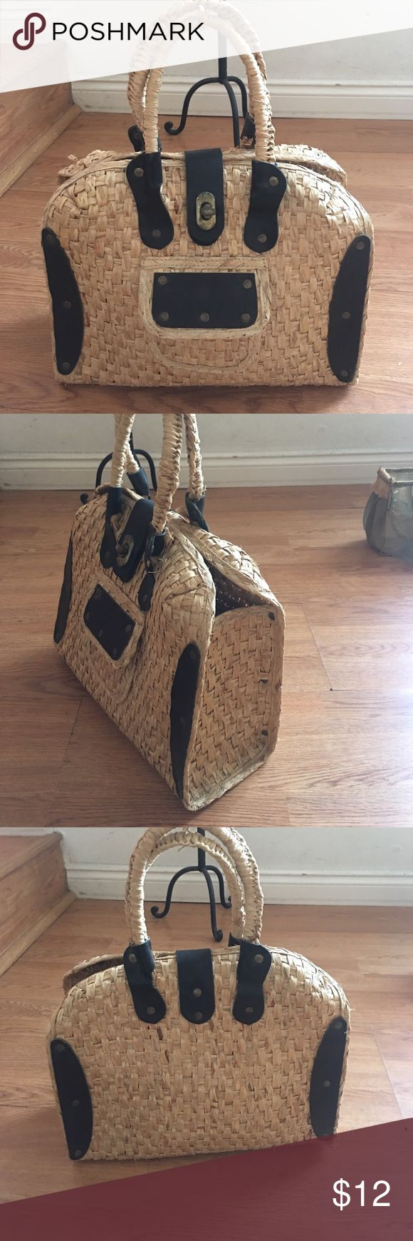 ANNA SUI Straw back ANNA SUI Straw back Anna Sui Bags Totes