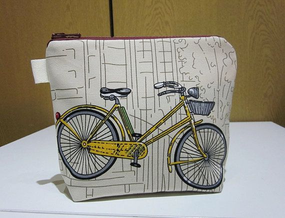 Hey, I found this really awesome Etsy listing at https://www.etsy.com/uk/listing/260770329/cosmetic-bag-vintage-bike-make-up-bag