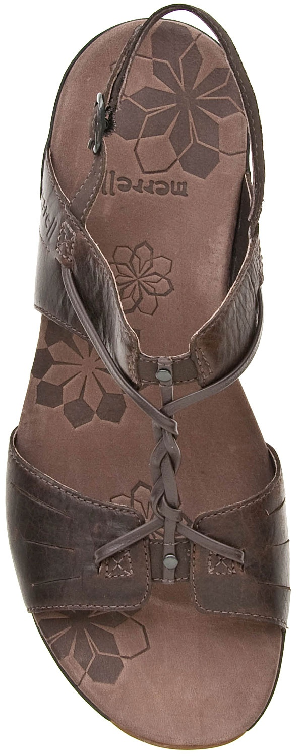 Merrill Mecca Silver Lining Sandals - Merrell Micca from www.planetshoes.com
