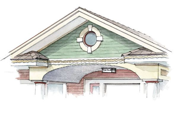 17 Best Images About House Gable Ideas On Pinterest