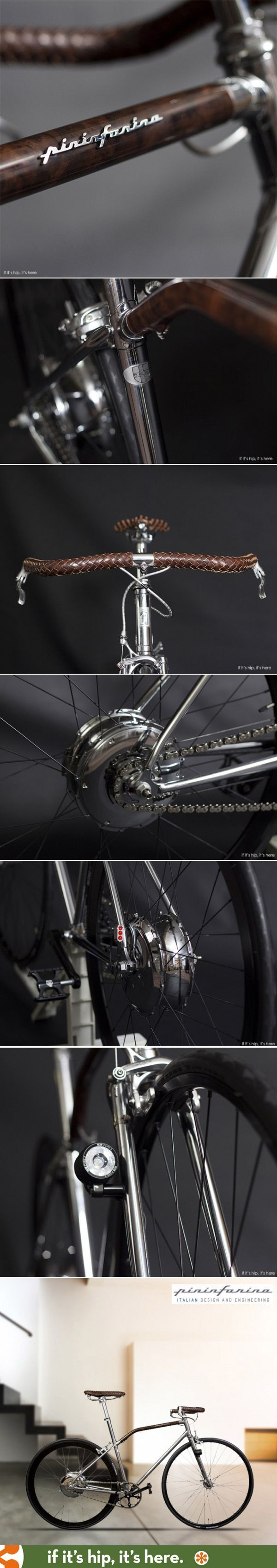 Limited edition Pininfarina Fuoriserie bike with electric engine
