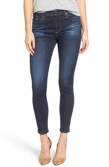AG The Farrah High Waist Ankle Skinny Jeans (02 Years Beginnings) (Nordstrom Exclusive) | Nordstrom - Nordstrom