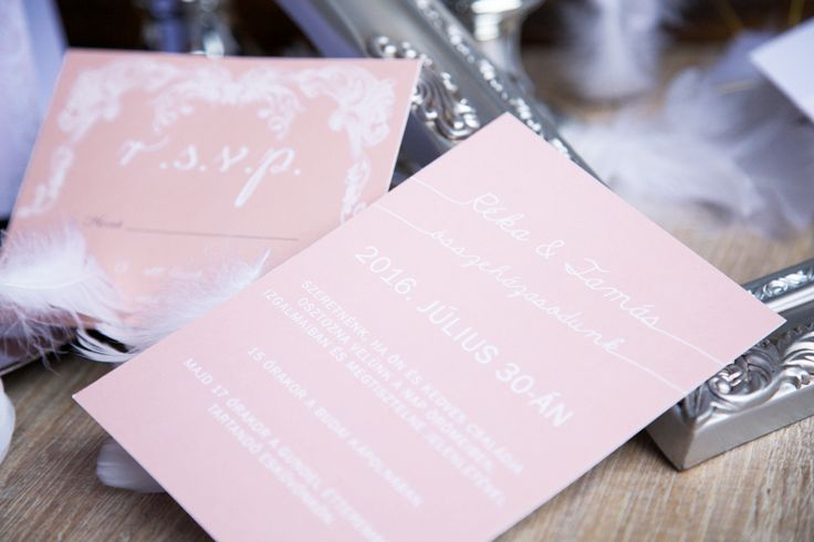 Modern Wedding Invitation, peach wedding invitation, wedding invitation