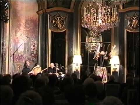 """Love song - Music & Dance from Uzbekistan. This video presents an Uzbekii dance piece in 7/8 known as """"Love song"""" played and arranged by Anello""""Lalloji"""" Capuano and danced by Helene Eriksen in a beautiful full mirrors / full crystal chandeliers baroque ballroom in Paris in 2002. """"Love song"""" can be also heard in the Anello Capuano's Oriental Dance CD """"OrienTales"""" now on sale on iTune Stores and other leading web's music stores."""