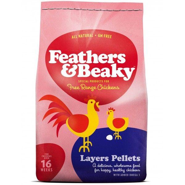 Stor säck med pelletsfoder till höns och andra fjäderfä. Hönsfoder hittar du på Lantbutiken.se