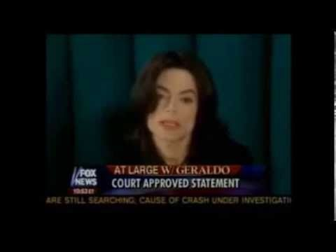 Michael Jackson interview - Geraldo Rivera 2005. This is a great interview. Geraldo was so respectful to Michael. Very good interview.