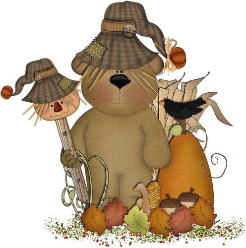 218 best images about fall clip art on pinterest for Animated scarecrow decoration