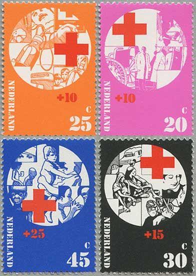 Stamp Netherlands 1973