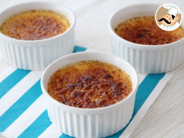 Receita Sobremesa : Creme brûlée de PetitChef_PT