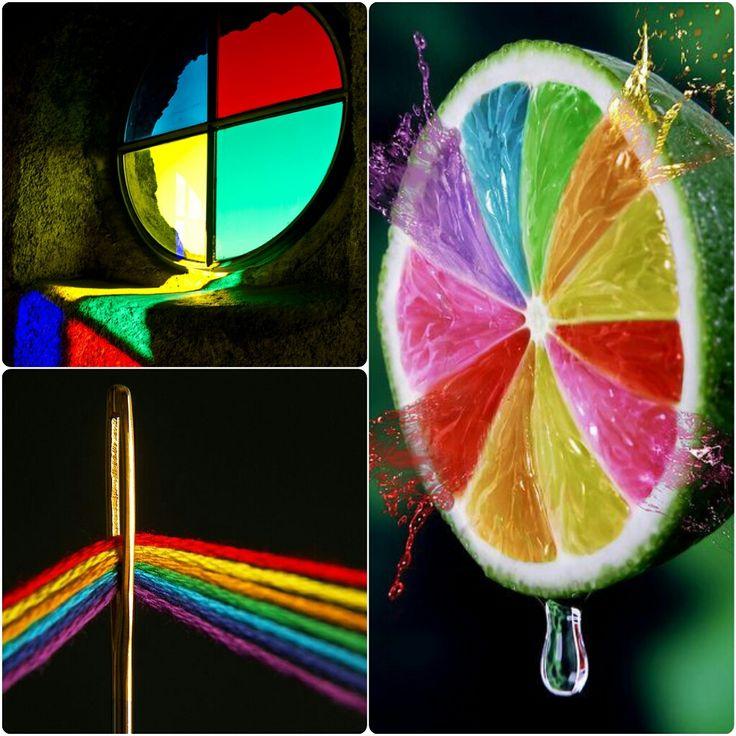 Curcubeu de sentimente  #rainbow #colorful #moodboard