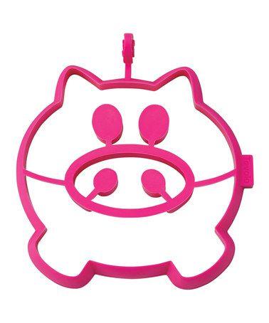 Look at this #zulilyfind! Pink Pig Breakfast Shaper #zulilyfinds