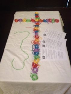 This site has several different interactive prayer station activities.