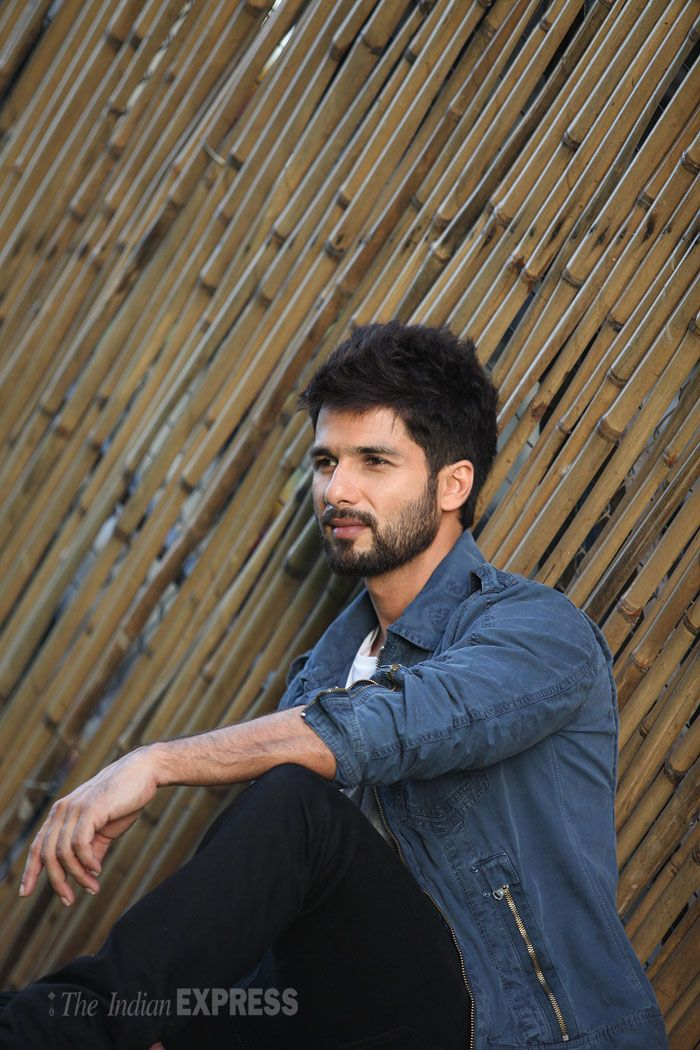 ShahidKapoor in a photoshoot for Screen. #Style #Bollywood #Fashion #Handsome
