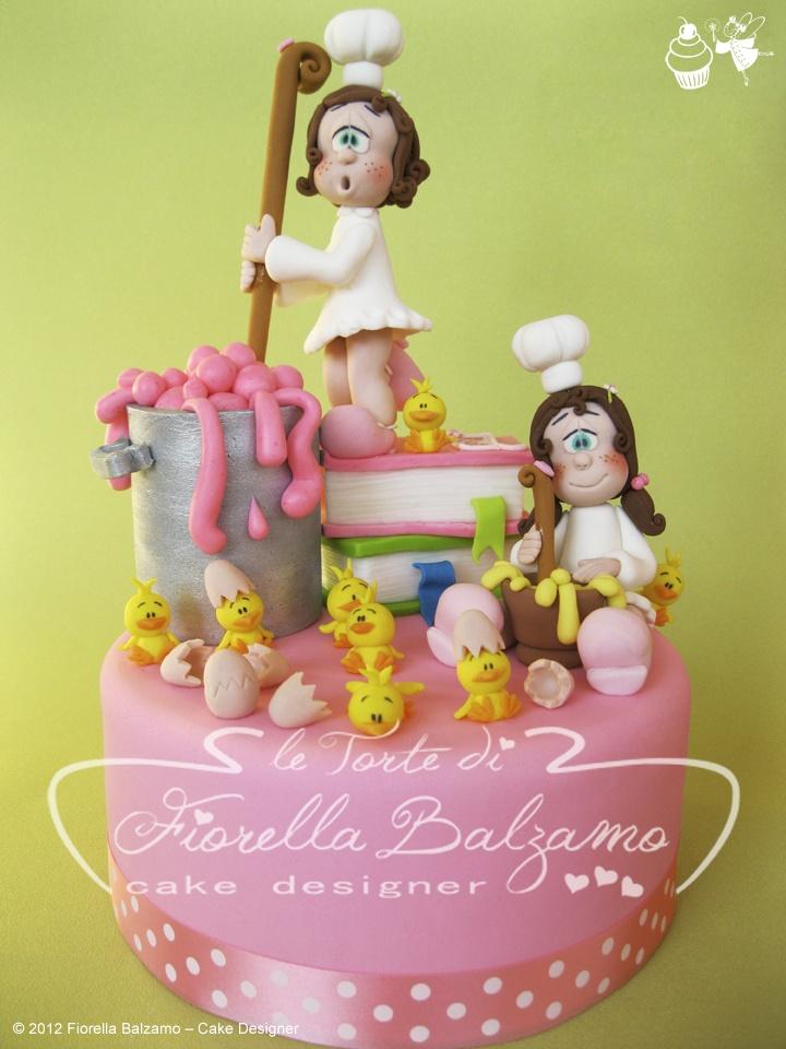 Little Chef Cake By Fiorella Balzamo www.tortedifiorella.com